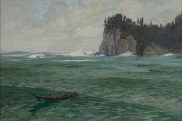 Paul Morgan Gustin (1886-1976), Clo Oose, 1919. Oil on canvas, Collection of Ron Hanson