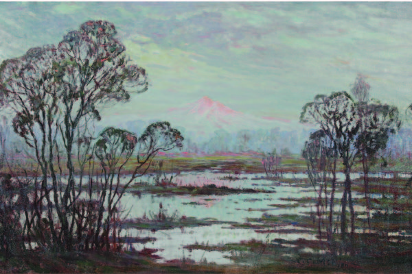 C. C. McKim, Untitled (Mount Hood, Early Spring), 1927