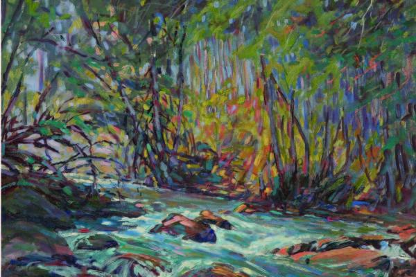 C. C. McKim, Untitled (Oregon Creek), circa 1915